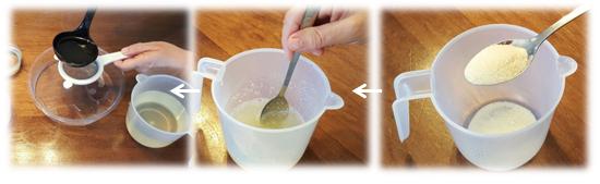 כיצד להכין עוגת ג'לי כמו מקצוענים - שלב א'