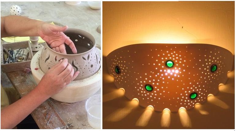בואו ליצור גוף תאורה מרהיב עם האמן רונן קימל