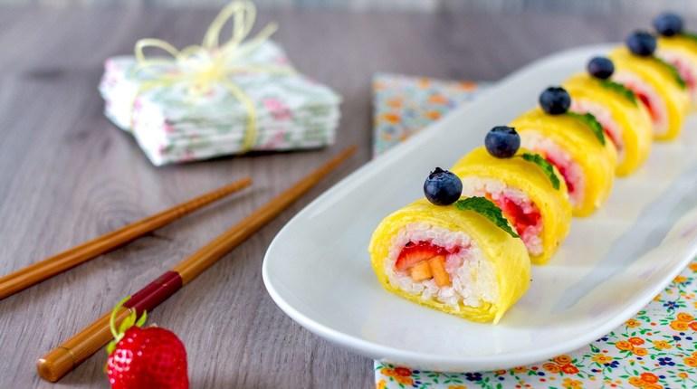 הטרנד החדש של הקיץ - סושי פירות