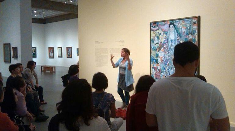 מיכל סיור במוזיאון תל אביב