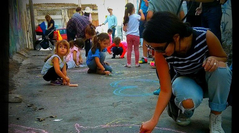סיור גרפיטי לילדים בכל הגילאים