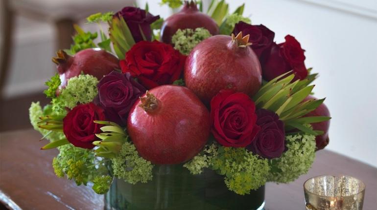 סדנה בשזירת פרחים - סידור לראש השנה