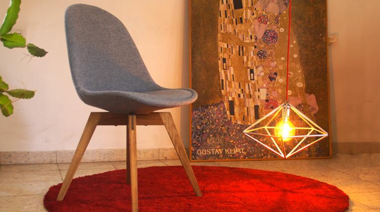 'יהלומים לנצח' - עיצוב ובנית גופי תאורה גאומטריים
