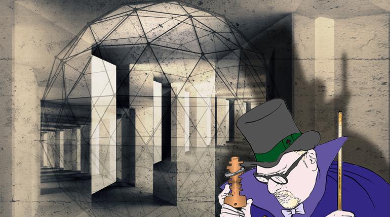 חדר בריחה משפחתי, המסתור של הקוסם קליוסטרו