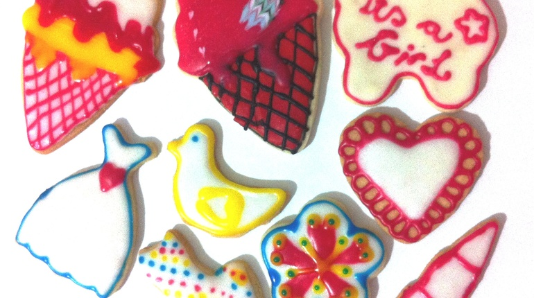 קישוט עוגיות ברויאל אייסינג, אומנות במטבח.