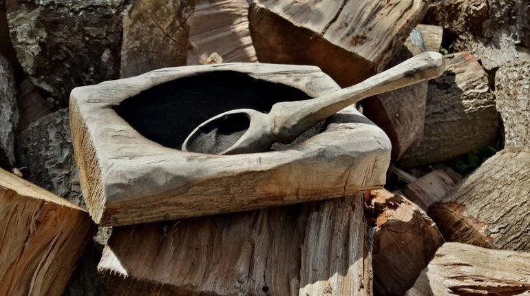 סדנת גילוף כלי אוכל באולר ואש