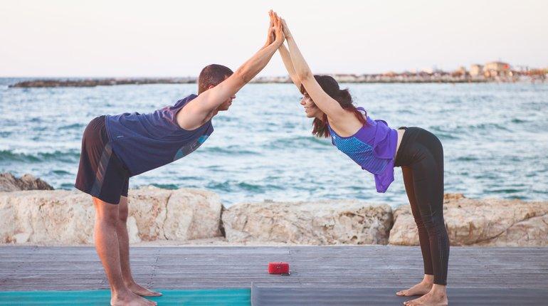 יוגה בשניים - סדנת יוגה מיוחדת ליום האהבה