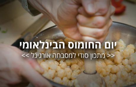 חוגגים בניגוב – מתכון סודי במיוחד לחומוס מסבחה אורגינל