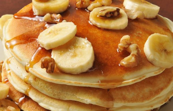 מתכון לפנקייקס בננות